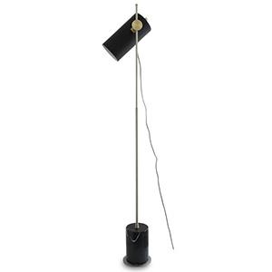 ディクラッセ LEDフロアライト 《LED Binario》 白熱球60W相当 電球色 ブラック LF4478BK