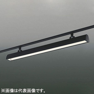 コイズミ照明 LED一体型スポットライト ライティングレール取付タイプ FLR40W×2灯相当 温白色 ブラック XS44061L