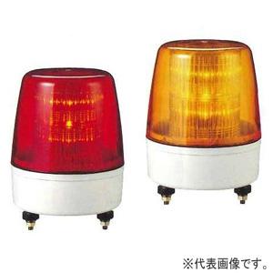 パトライト LED中型表示灯 流動/点滅タイプ 定格電圧AC100V φ162mm 赤 KPE-100A-R
