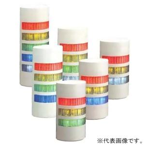 パトライト LED壁面取付積層信号灯 《シグナル・タワー ウォールマウント》 点灯/点滅/ブザータイプ 4段式(赤・黄・緑・青) ライトグレー WEP-402FB-RYGB