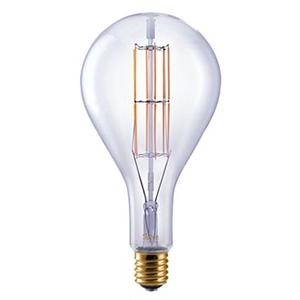 ビートソニック LED電球 《Siphon Grande》 ティアドロップ形 40W相当 全光束450lm 暖系電球色 E39口金 調光器対応 LDF302