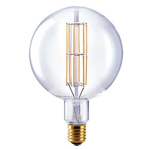 ビートソニック LED電球 《Siphon Grande》 ボール200形 40W相当 全光束450lm 暖系電球色 E39口金 調光器対応 LDF303