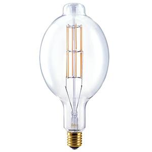 ビートソニック LED電球 《Siphon Grande》 フィッシャーマン形 40W相当 全光束450lm 暖系電球色 E39口金 調光器対応 LDF304