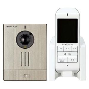 【期間限定特価】 アイホン ワイヤレステレビドアホンセット AC電源アダプター式 モニター付親機+カメラ付玄関子機 WL-11