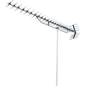 DXアンテナ 高性能形UHF27素子アンテナ パラスタック式 超弱電界用 家庭用 オールチャンネル用 水平・垂直共用 UAX27P1