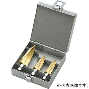 ユニカ デッキビット ツールボックスセット 回転専用 三面シャンク 3本セット(15/16/22mm) シャンク径10mm TB-50