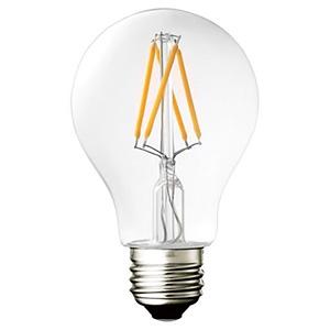 三菱ケミカルメディア 【ケース販売特価 10個セット】 LEDフィラメント電球 クリアタイプ 一般電球30W形相当 電球色 口金E26 LDA4R-G_FCV2_set