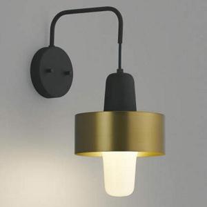 コイズミ照明 LEDランプ交換可能型ブラケットライト 《mekki》 4.9W 白熱球60W相当 口金E26 電球色 ブラス色 AB41336L