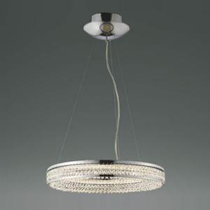 コイズミ照明 LED一体型ペンダントライト ~8畳用 《Ring Pendant》 直付・埋込両用型 埋込穴φ160mm 調光タイプ 電球色 専用リモコン付 AP42693L