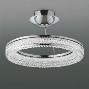 コイズミ照明 LED一体型ペンダントライト ~8畳用 《Ring Pendant》 直付・埋込両用型 埋込穴φ160mm 調光タイプ 昼白色 専用リモコン付 AH42698L