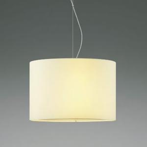 コイズミ照明 LEDランプ交換可能型ペンダントライト 《Fabric Pendant》 4.9W 白熱球60W相当 口金E26 電球色 白色 XP44540L