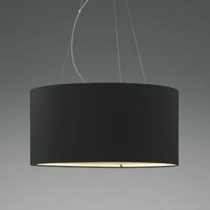 コイズミ照明 LEDランプ交換可能型ペンダントライト 《Fabric Pendant》 19.6W 電球形LEDランプ×4灯 口金E26 電球色 黒色 XP44542L