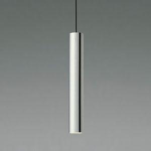 コイズミ照明 LED一体型ペンダントライト 《Cylinder Pendant》 フランジタイプ 8.7W 白熱球40W相当 調光タイプ 電球色 クロムメッキ AP44203L