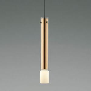 コイズミ照明 LED一体型ペンダントライト 《fi-no》 埋込タイプ 埋込穴φ50mm 8.1W 白熱球40W相当 Sunset調光 電球色(2700~1900K) ブロンズメッキ AP44210L
