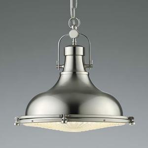 コイズミ照明 LEDランプ交換可能型ペンダントライト 《STEAMER》 7.8W 白熱球100W相当 口金E26 電球色 ホワイトブロンズメッキ AP45535L