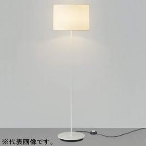 コイズミ照明 フロアスタンドライト本体 LEDランプ交換可能型 ON・OFFタイプ 7.8W 白熱球100W相当 口金E26 電球色 鋼/ファインホワイト塗装 AT45841L