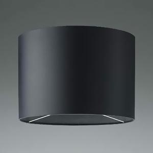 コイズミ照明 フロアスタンドライト用セード 丸型タイプ 幅φ400×高さ280mm 黒色 AE45848E