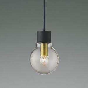 コイズミ照明 LEDランプ交換可能型ペンダントライト 《ethane》 引掛シーリング取付タイプ 1.8W 電球形クリアランプ 口金E17 電球色 AP46397L