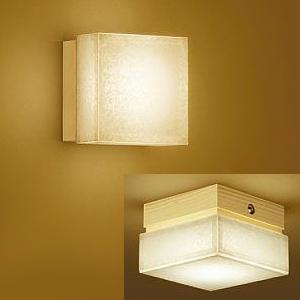 DAIKO LED和風ブラケットライト 電球色 調光可能 白熱灯60Wタイプ 天井・壁面取付兼用 DBK-36933