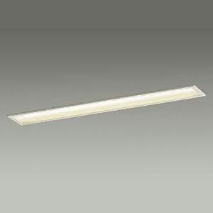 DAIKO LEDキッチンライト 電球色 非調光タイプ FL30Wタイプ 天井取付専用 埋込式 カバーキックバネ式 DBL-3858YW