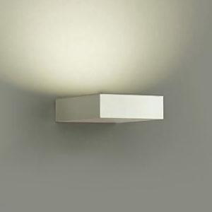 DAIKO LEDブラケットライト 密閉型 白熱灯100Wタイプ 電球色 調光タイプ 上向付・下向付兼用 カバーバネ式 拡散パネル付 ホワイト DBK-37852