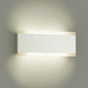 DAIKO LEDブラケットライト 電球色 非調光タイプ 白熱灯120Wタイプ 壁面取付専用 白塗装 DBK-38084