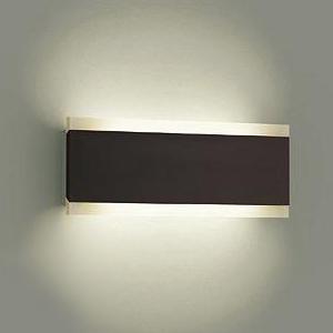 DAIKO LEDブラケットライト 電球色 非調光タイプ 白熱灯120Wタイプ 壁面取付専用 ダークブラウン塗装 DBK-38088