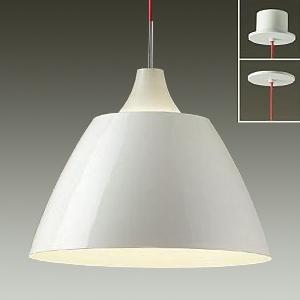 DAIKO LEDペンダントライト 直付/埋込兼用 電球色 非調光タイプ E26口金 白熱灯100Wタイプ 端子台木ネジ取付方式 白 DPN-38280Y