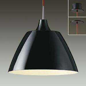 DAIKO LEDペンダントライト 直付/埋込兼用 電球色 非調光タイプ E26口金 白熱灯100Wタイプ 端子台木ネジ取付方式 黒 DPN-38281Y