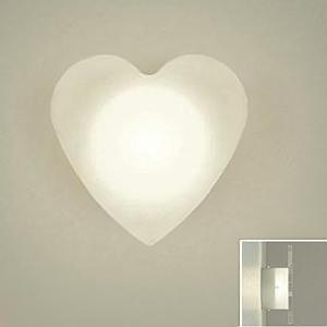 DAIKO LEDブラケットライト 電球色 非調光タイプ 白熱灯60Wタイプ 壁面取付専用 ハート形 DBK-38327Y