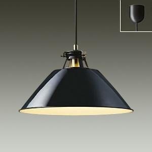 DAIKO LEDペンダントライト 電球色 非調光タイプ E26口金 白熱灯100Wタイプ 引掛シーリング取付式 黒 DPN-38507Y