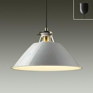 DAIKO LEDペンダントライト 電球色 非調光タイプ E26口金 白熱灯100Wタイプ 引掛シーリング取付式 ペールグレー DPN-38508Y
