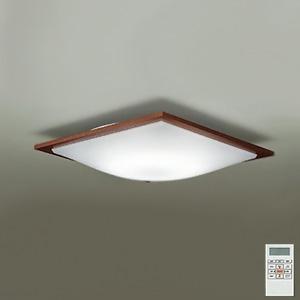 DAIKO LEDシーリングライト ~12畳用 プルレス調色・調光タイプ(昼光色~電球色) 46W タイマー付リモコン付属 ウォールナット色 DCL-38590