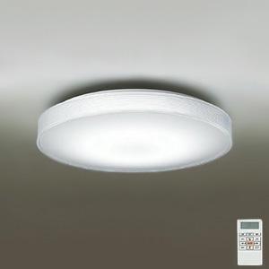 DAIKO LEDシーリングライト ~12畳用 プルレス調色・調光タイプ(昼光色~電球色) 46W タイマー付リモコン付属 プラスチック・透明 DCL-38702