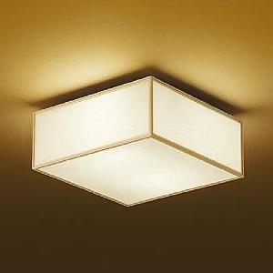 DAIKO LED和風シーリングライト 電球色 非調光タイプ E26口金 白熱灯60W×2灯タイプ 端子台木ネジ取付方式 DCL-38825Y