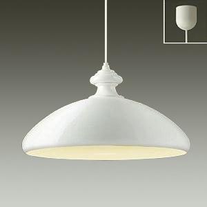 DAIKO LEDペンダントライト 電球色 非調光タイプ E26口金 白熱灯100Wタイプ 引掛シーリング取付式 白 DPN-38895Y