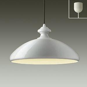 DAIKO LEDペンダントライト 電球色 非調光タイプ E26口金 白熱灯100Wタイプ 引掛シーリング取付式 ペールグレー DPN-38896Y