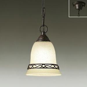 DAIKO LEDペンダントライト ランプ付 ハンドメイド品 白熱灯60W相当 非調光タイプ 5.8W 口金E17 電球色タイプ ブラックアンティーク色 DPN-38927Y