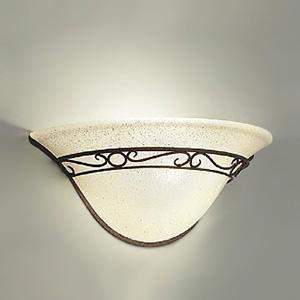 DAIKO LEDブラケットライト ランプ付 ハンドメイド品 白熱灯60W相当 非調光タイプ 5.8W 口金E17 電球色タイプ ブラックアンティーク色 DBK-38936Y