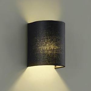 DAIKO LEDブラケットライト 電球色 非調光タイプ 白熱灯60Wタイプ E17口金 壁面取付専用 黒 DBK-39006Y