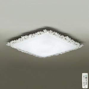 DAIKO LEDシーリングライト ~10畳用 プルレス調色・調光タイプ(昼光色~電球色) 51W タイマー付リモコン付属 クリアホワイト DCL-39155