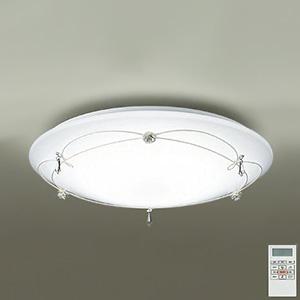 DAIKO LEDシーリングライト ~10畳用 プルレス調色・調光タイプ(昼光色~電球色) 51W タイマー付リモコン付属 スカボ風 DCL-39216