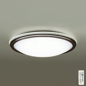 DAIKO LEDシーリングライト ~10畳用 プルレス調色・調光タイプ(昼光色~電球色) 51W タイマー付リモコン付属 ダークブラウン DCL-39209