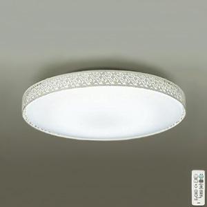 DAIKO LEDシーリングライト ~10畳用 プルレス調色・調光タイプ(昼光色~電球色) 51W タイマー付リモコン付属 アイボリーアンティーク色 DCL-39275