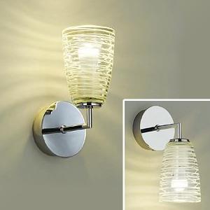 DAIKO LEDブラケットライト 電球色 非調光タイプ 白熱灯60Wタイプ E17口金 壁面上・下向付兼用 ガラス製セード模様入 DBK-39303Y