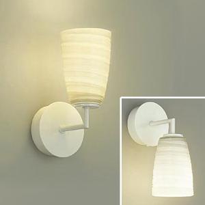 DAIKO LEDブラケットライト 電球色 非調光タイプ 白熱灯60Wタイプ E17口金 壁面上・下向付兼用 ガラス製セード模様入 DBK-39304Y