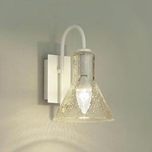 DAIKO LEDブラケットライト 電球色 非調光タイプ 白熱灯60Wタイプ E17口金 壁面取付専用 ガラス製セード泡入 DBK-39350Y