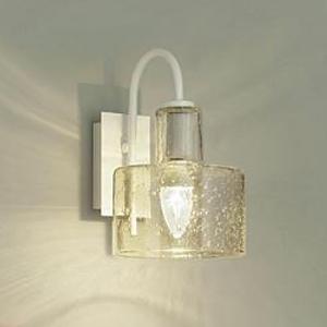 DAIKO LEDブラケットライト 電球色 非調光タイプ 白熱灯60Wタイプ E17口金 壁面取付専用 ガラス製セード泡入 DBK-39351Y
