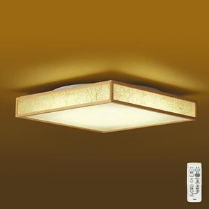 DAIKO LED和風シーリングライト ~6畳 調色・調光タイプ(昼光色~電球色) クイック取付式 リモコン・プルレススイッチ付 DCL-39397