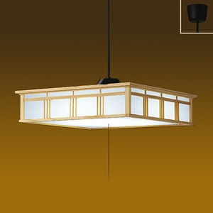 DAIKO LED和風ペンダントライト ~12畳 昼白色 非調光タイプ LED内蔵67W プル・プルレス兼用 引掛シーリング取付式 DPN-39407W